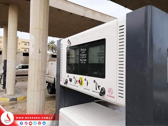 تركيب عدد 4 مضخات جديدة بمحطة المعقولة رقم 894 بسوق الخميس بمدينة الخمس بالتعاون مع مكتب الخمس وطرابلس