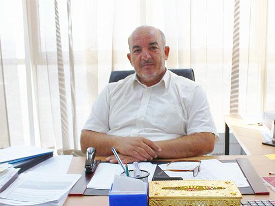 السيد طه الراندي مدير إدارة التفتيش والمتابعة بشركة الشرارة الذهبية للخدمات النفطية