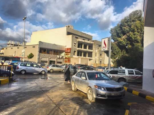 صورة ثالثة - افتتاح محطة الوقود رقم 55 بمنطقة راس حسن