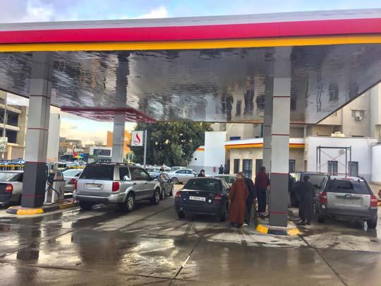 صورة رابعة - افتتاح محطة الوقود رقم 55 بمنطقة راس حسن