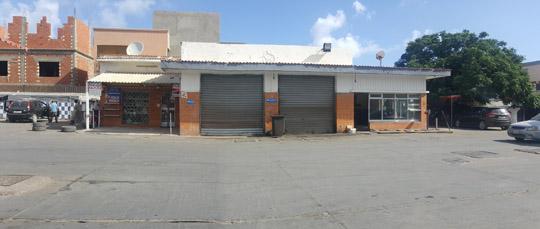 محطة وقود حي الأندلس قبل برنامج الصيانة