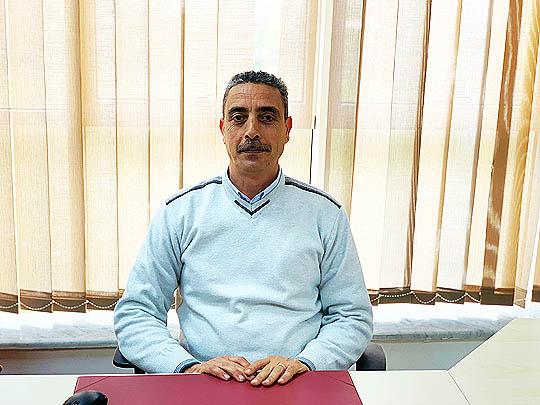 صورة السيد عمر عساكر - مدير قسم التسويق بشركة الشرارة الذهبية للخدمات النفطية