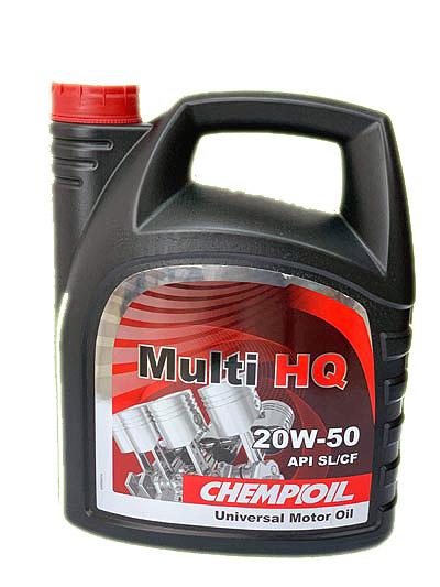 زيت محرك Chemioil كثافة 20w50 عبوة 4 متر