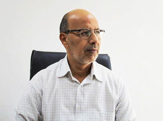 السيد عماد الزروق - مدير إدارة المبيعات والتسويق بشركة الشرارة الذهبية للخدمات النفطية في مقابلة له مع قسم الإعلام بالشركة