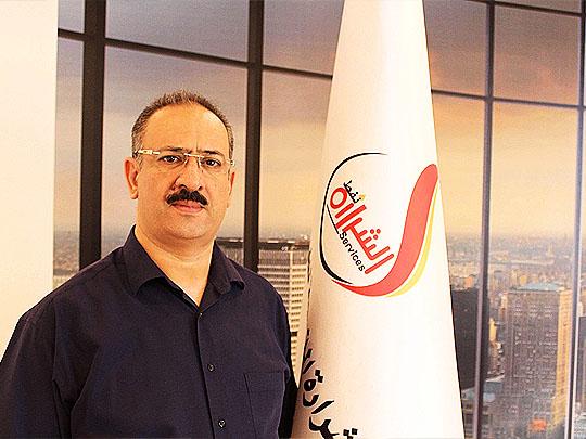 السيد رئيس مجلس إدارة شركة الشرارة الذهبية للخدمات النفطية