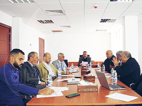 اجتماع لعرض مقترح تطوير وصيانة بعض المحطات التابعة للشركة