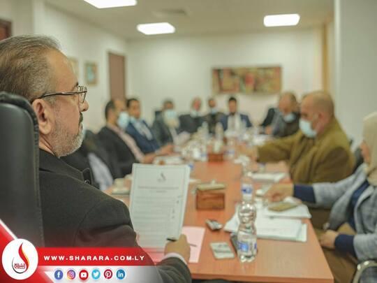 انعقد الاجتماع الدوري الثاني للإدارة العليا ومدراء الإدارات والمكاتب